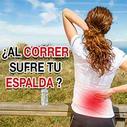 ¿Al correr sufre tu espalda?