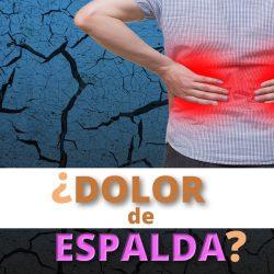 ¿Dolor de Espalda?