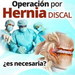 Evita la operación por hernia discal
