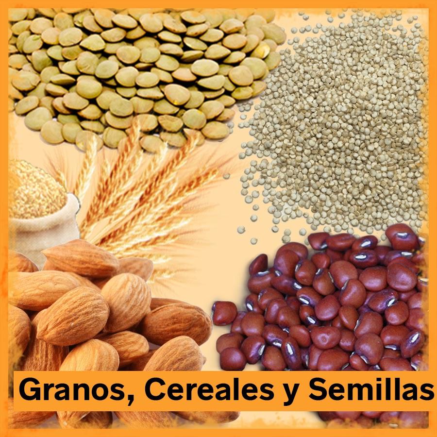 Granos, Cereales y Semillas